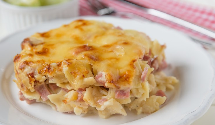 Lasagna al forno farcita