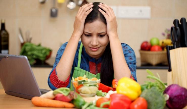 stress in cucina