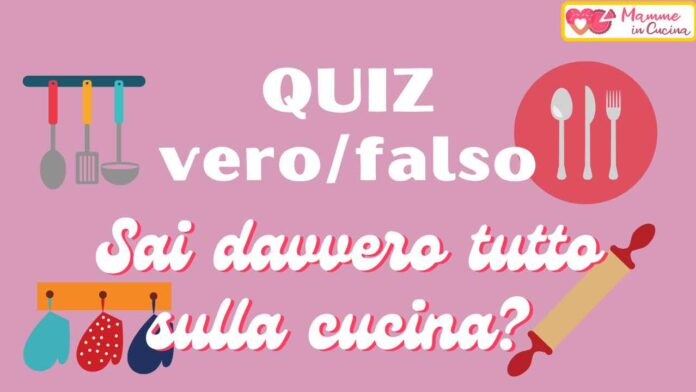 QUIZ VERO/FALSO